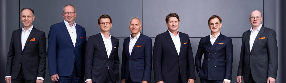 Vorstand Lechner und Hofmann